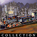 Universal Studios Monsters Express Halloween Electric Train Collection
